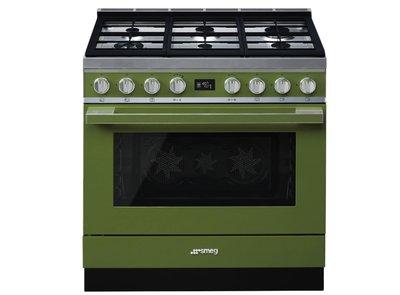 Cocina CPF9GPOG Termoventilado Pirolitico 90x60 cm