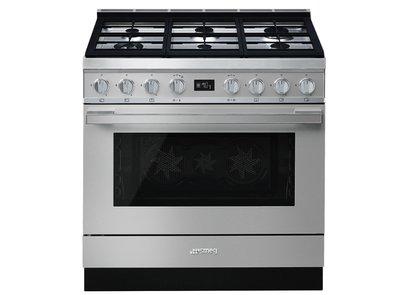 Cocina CPF9GPX Termoventilado Pirolitico 90x60 cm