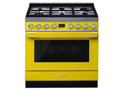 Cocina CPF9GPYW Termoventilado Pirolitico 90x60 cm