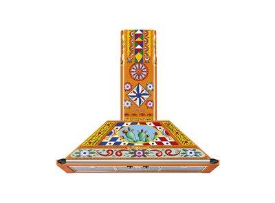 Campana 90 cm Material pintado KT90DGC Trapezio