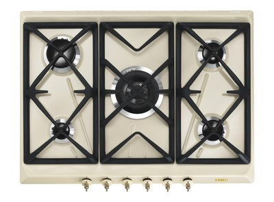 Encimera de cocción SRV876POGH Gas Color Crema