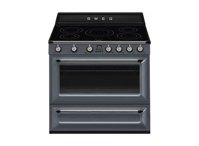 Cocina TR90IGR Termoventilado Vapor Clean 90x60 cm