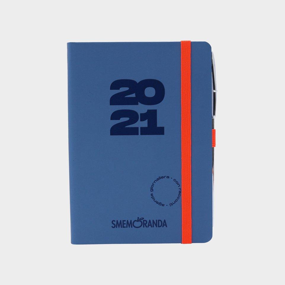 Smemoranda 12 Mesi 2021 Soft Giorn 11,2x16,4  Grigia