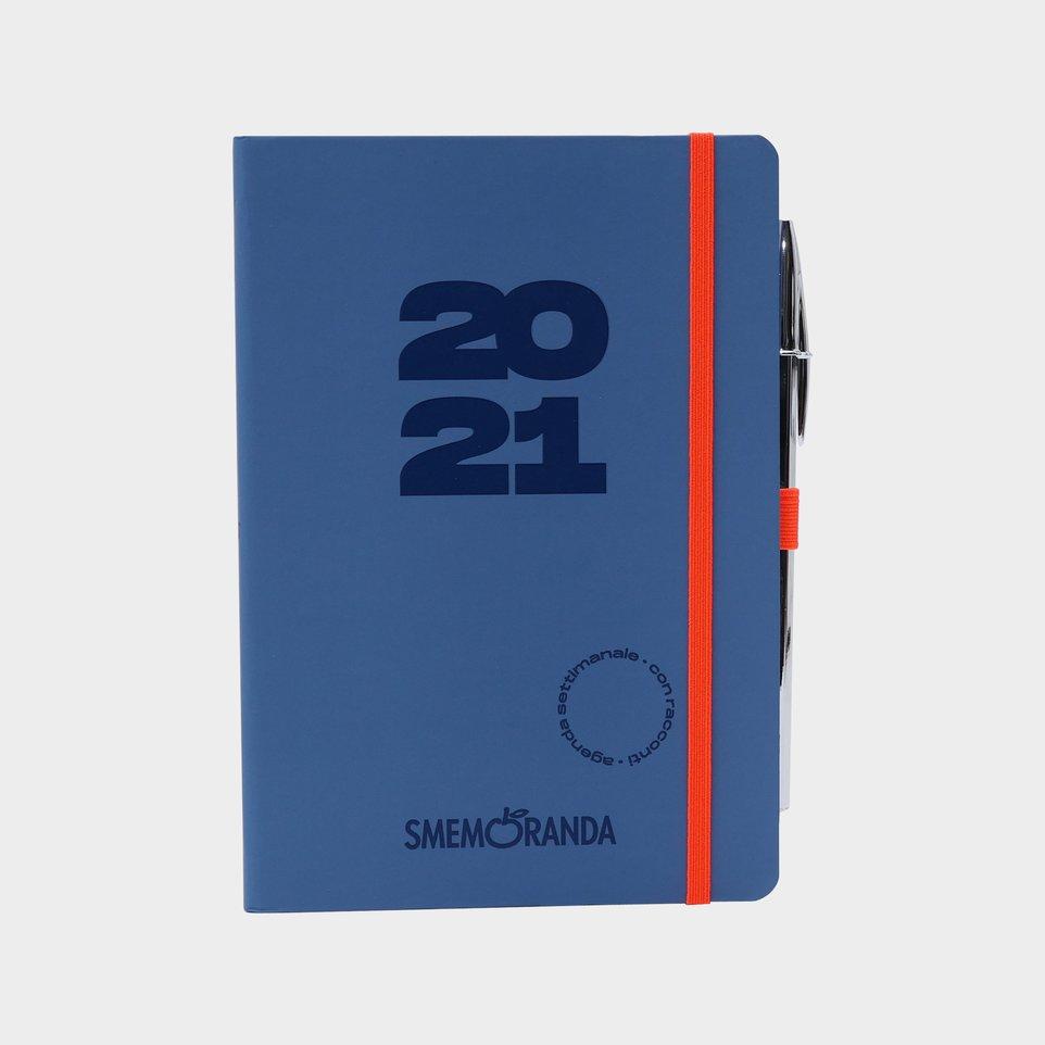 Smemoranda 12 Mesi 2021 Soft Sett 12,9x18,7 Grigia