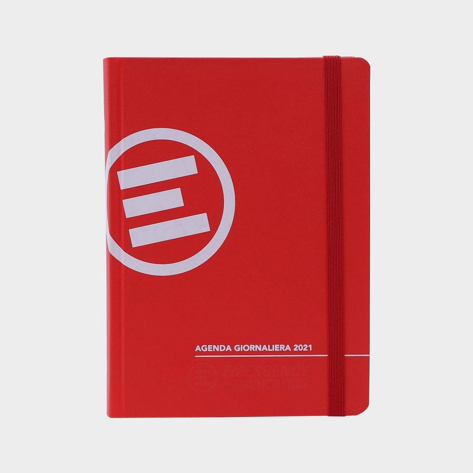 Agenda Emergency 2021 By Smemoranda Cm 12x16,5 Giornaliera Rossa