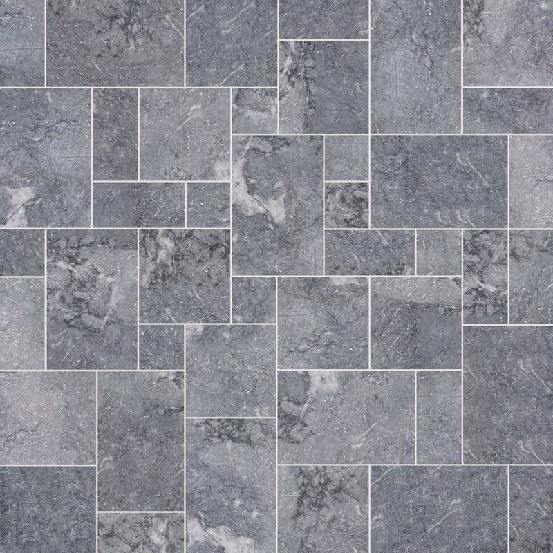 Fume Sawn Natural Marble Paving (Mixed Size Pack) - Fume