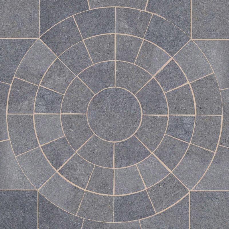 Twilight Hand Cut Natural Sandstone Circles - Twilight