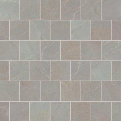 Raj Blend Hand Cut Natural Sandstone Paving (600x600 Packs)