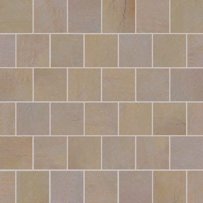 Buff Hand Cut Natural Sandstone Paving (600x600 Packs)