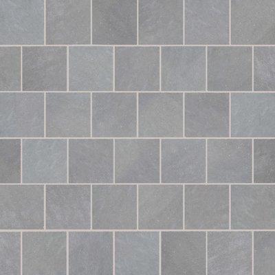 Kandala Grey Hand Cut Natural Sandstone Paving (600x600 Packs)