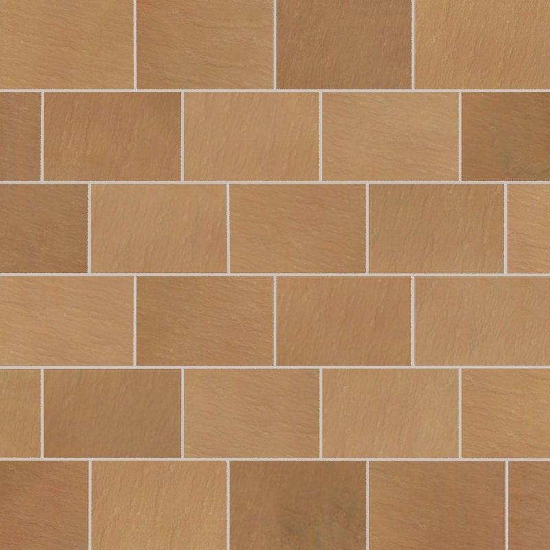 Modak Tumbled Natural Sandstone Paving (840x560 Packs) - Modak