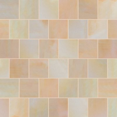Buff Sawn Natural Sandstone Paving (600x600 Packs)