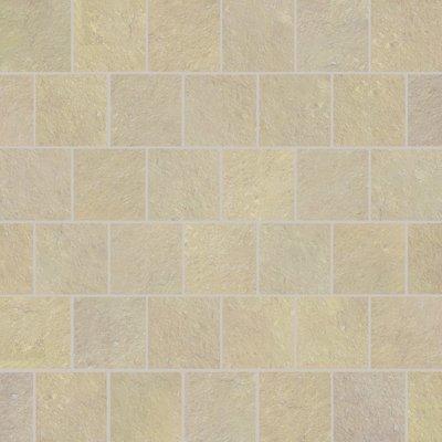 Kota Yellow Hand Cut Natural Limestone Paving (600x600 Packs)