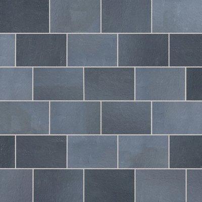 Kota Black Hand Cut Natural Limestone Paving (900x600 Packs)
