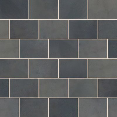 Brazilian Black Sawn Natural Slate Tiles (900x600 Packs)