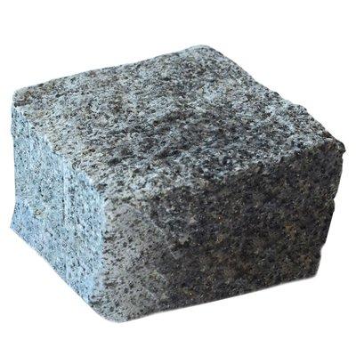 Dark Grey Cropped Natural Granite Cobbles (100x100x100 Size)