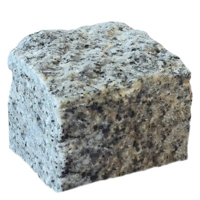 Light Grey Cropped Natural Granite Cobbles (100x100x100 Size)