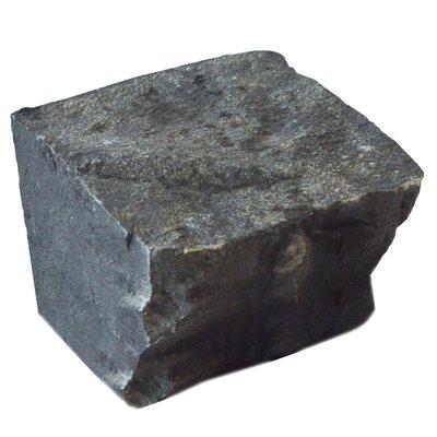 Black Cropped Natural Basalt Cobbles (100x100x60 Size)