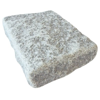Light Grey Sawn, Riven & Tumbled Natural Granite Block Paving (140x210 Size)