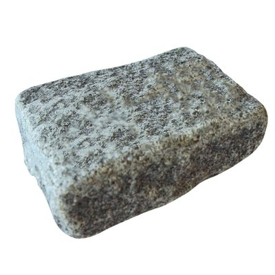 Dark Grey Cropped Natural Granite Block Paving (140x105 Size)