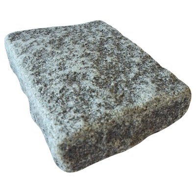 Dark Grey Cropped Natural Granite Block Paving (140x210 Size)