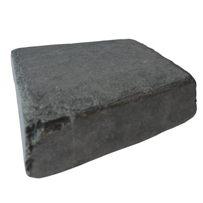 Kota Black Tumbled Natural Limestone Block Paving (150x150 Size)