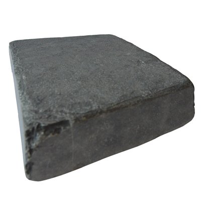 Kota Black Tumbled Natural Limestone Block Paving (150x200 Size)