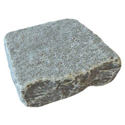 Graphite Cropped Natural Limestone Block Paving (150x150 Size)