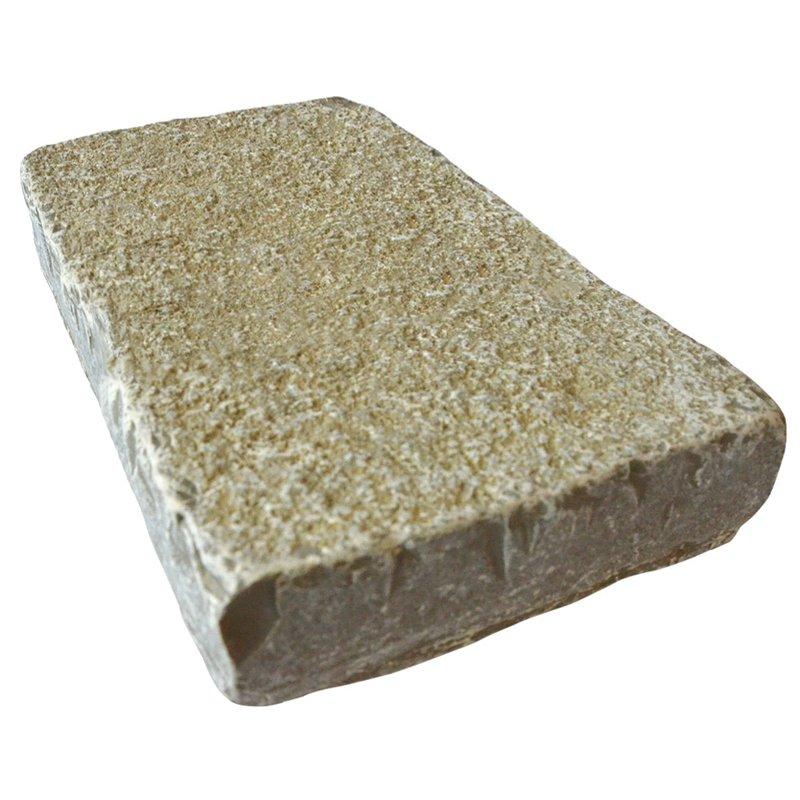 Kota Yellow Cropped Natural Limestone Block Paving (150x250 Size) - Kota Yellow