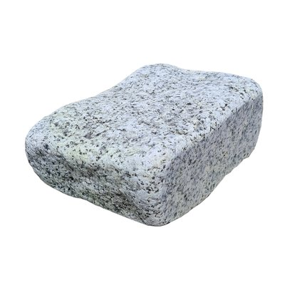 Light Grey Sawn, Riven & Tumbled Natural Granite Block Paving (105x140 Size)