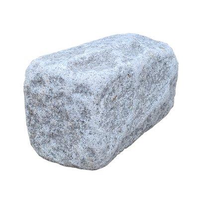Light Grey Sawn, Riven & Tumbled Natural Granite Walling (200x100 Packs)
