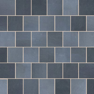 Kota Black Sawn Natural Limestone Paving (600x600 Packs)