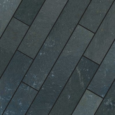 Kota Black Hand Cut Natural Limestone Planks (900x150 Packs)