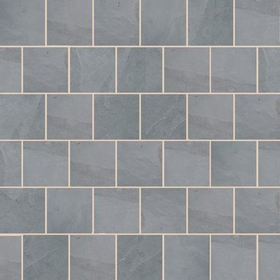 Brazilian Grey Sawn Natural Slate Paving (600x600 Packs)