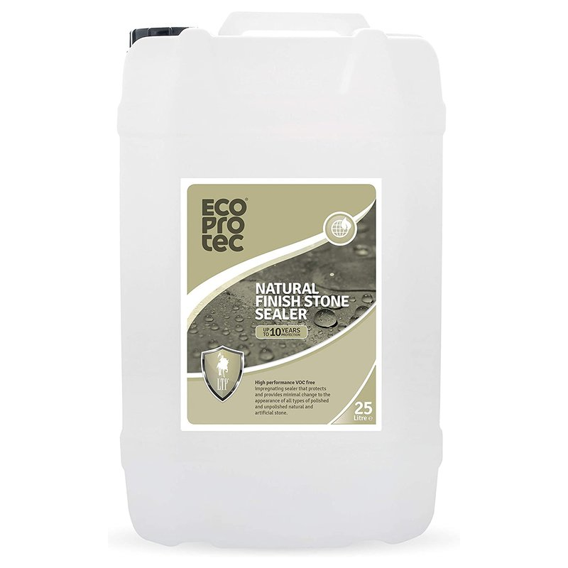 LTP Ecoprotec Natural Finish Stone Sealer - 25L - Clear