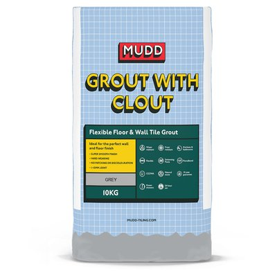 Mudd Flexible Floor and Tile Grout - 10KG