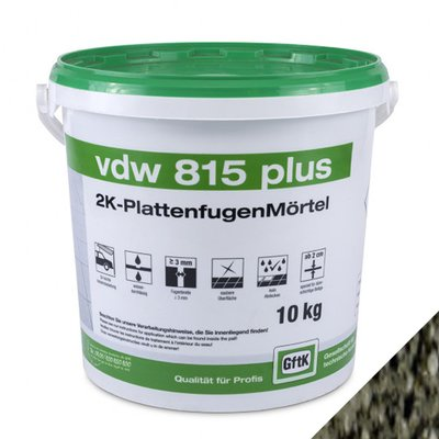 GFTK VDW 815 Plus Epoxy Paving Grout - 10KG
