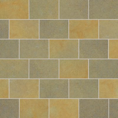 Kota Yellow Tumbled Natural Limestone Paving (840x560 Packs)