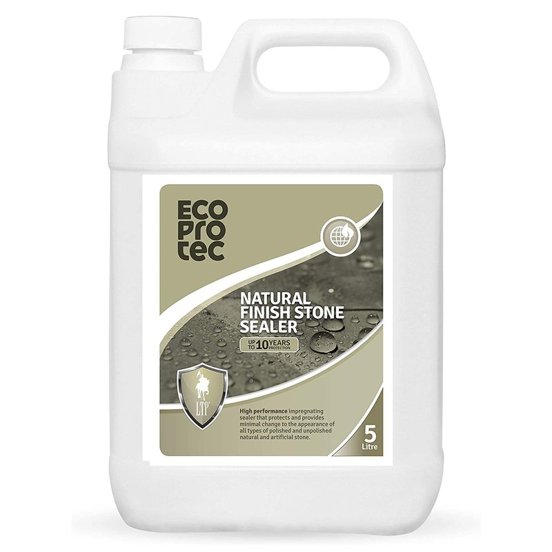 LTP Ecoprotec Natural Finish Stone Sealer - 5L - Clear