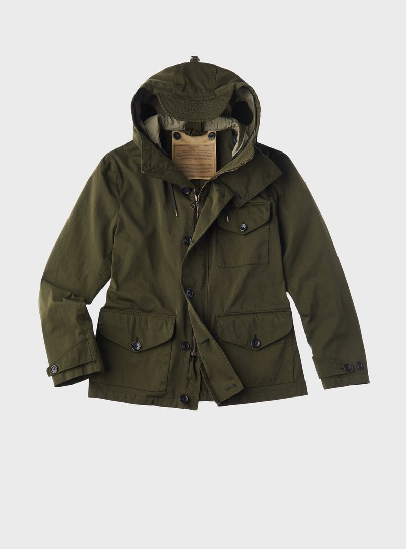 NAVY PARKA (JACKET)