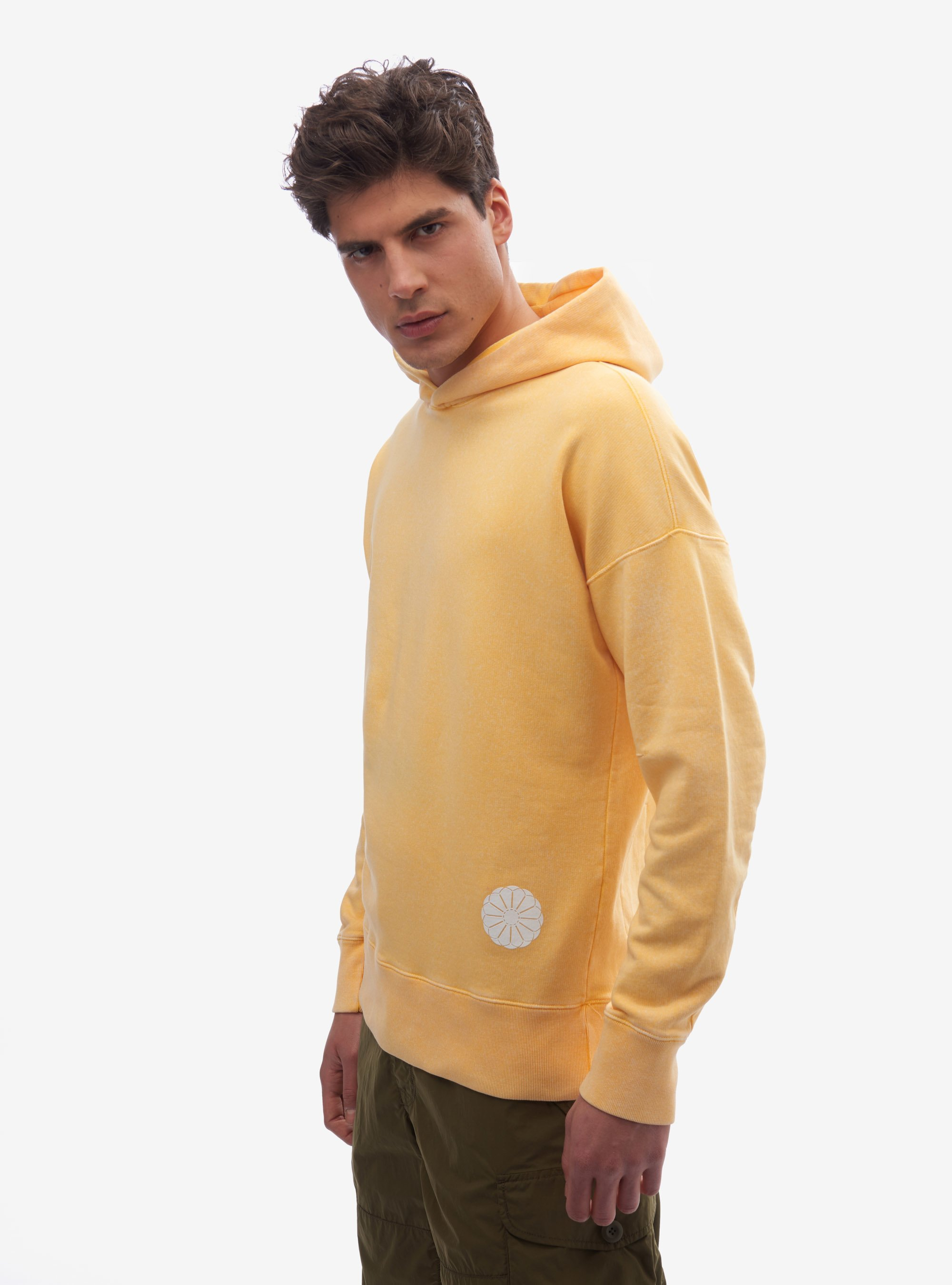 TEN C - POPOVER HOODY - Mineral Yellow - TEN C