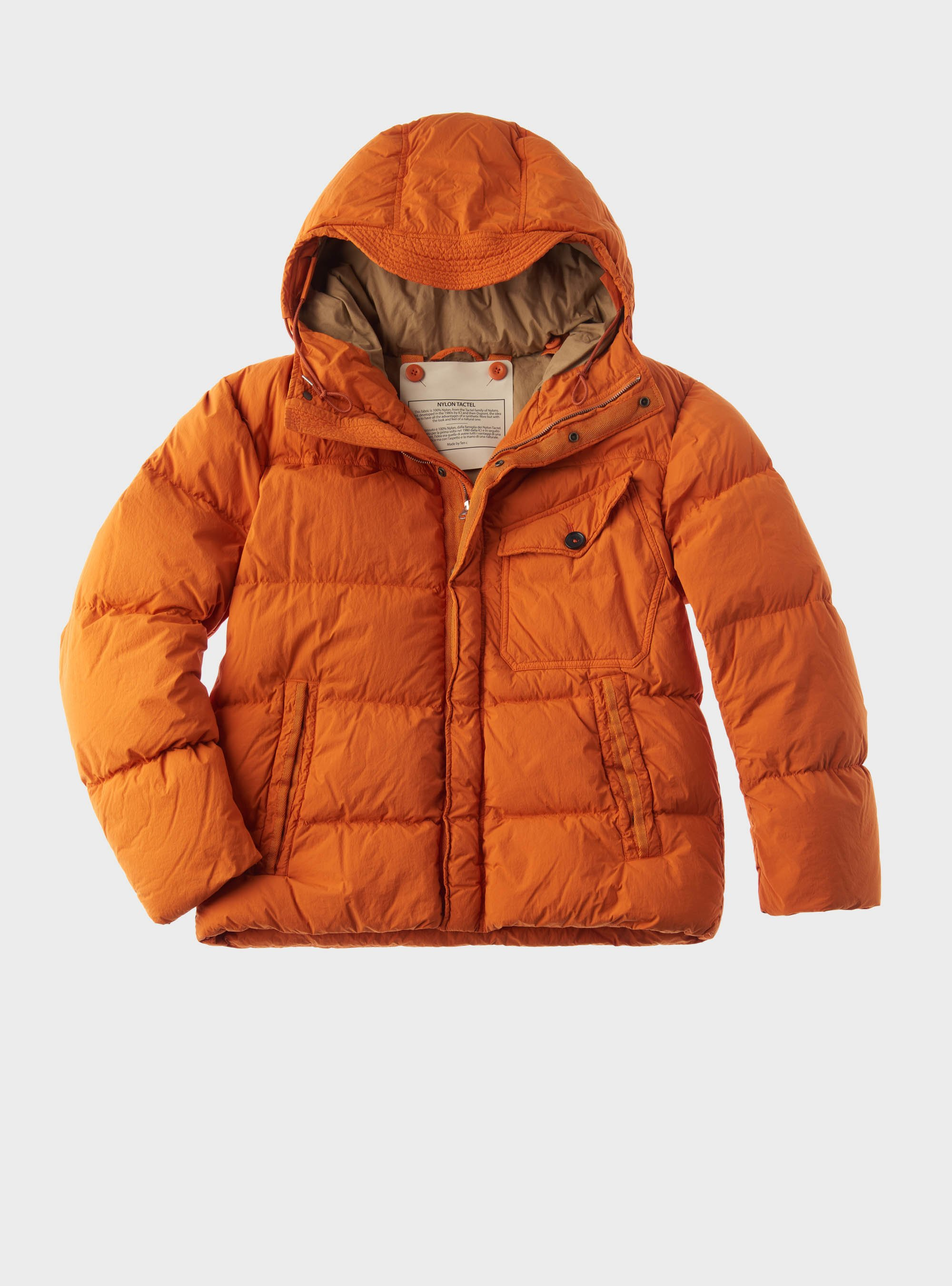 TEN C - SURVIVAL DOWN JACKET - Clementine - TEN C