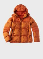 TEN C - MID LAYER DOWN JACKET - Clementine - TEN C
