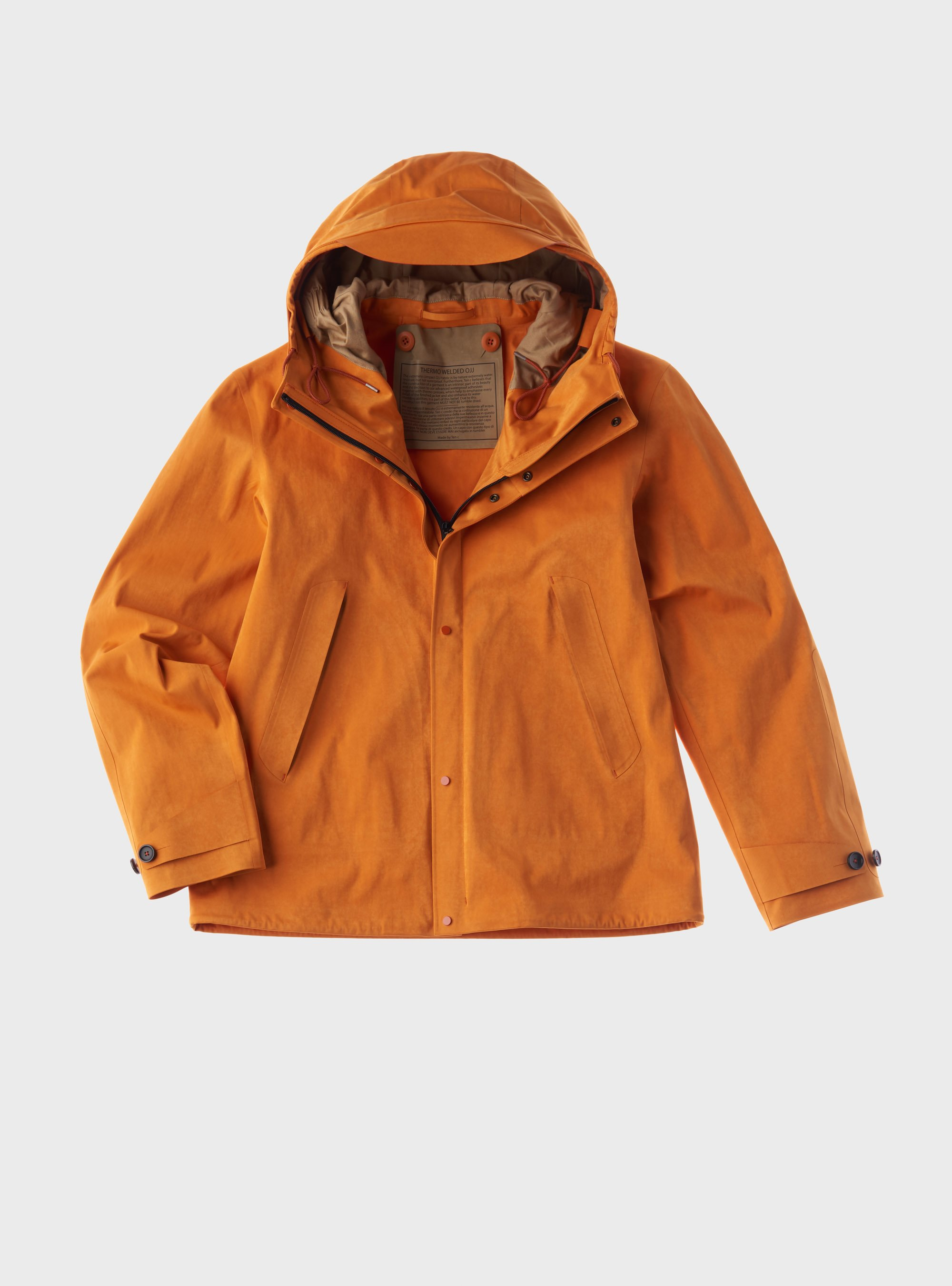 TEN C - ANORAK THERMO ADHESIVE - Clementine - TEN C