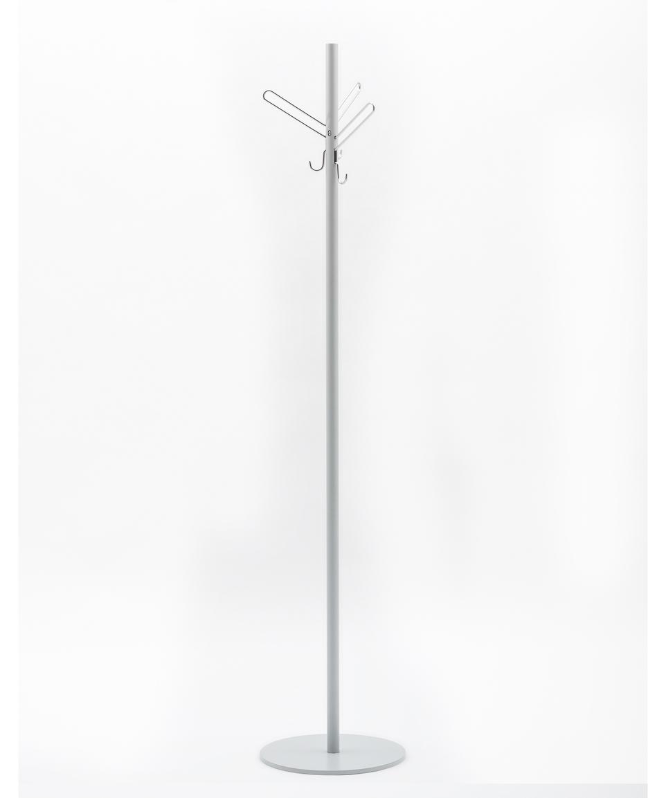 Tiki Coat Hanger Silver
