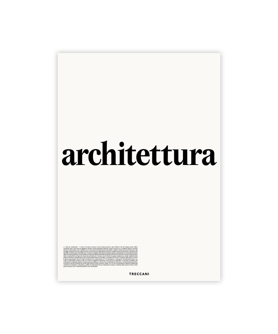 Poster Architettura