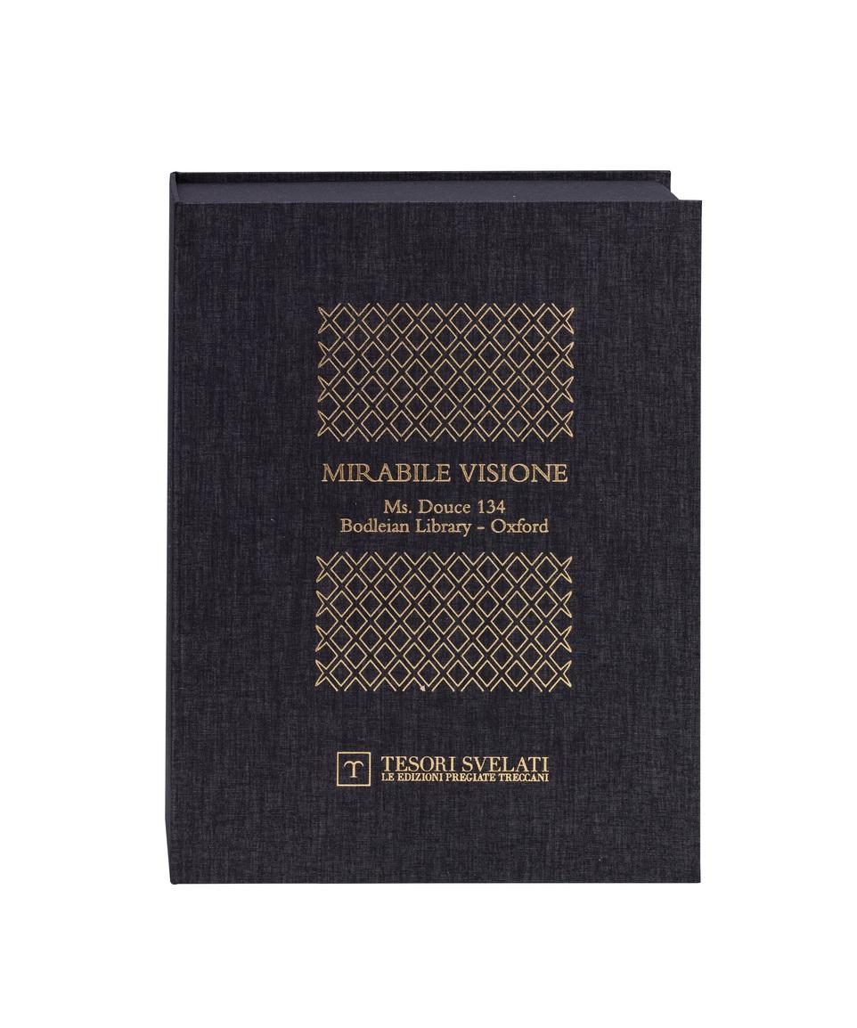 Manuscript Douce 134. Mirabile visione