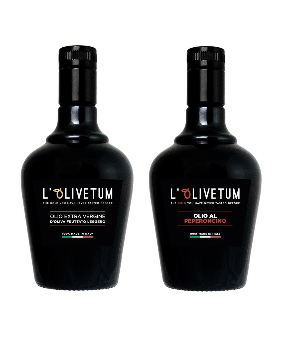 Extra virgin olive oil - Light Fruity & Chili oil (500ml)