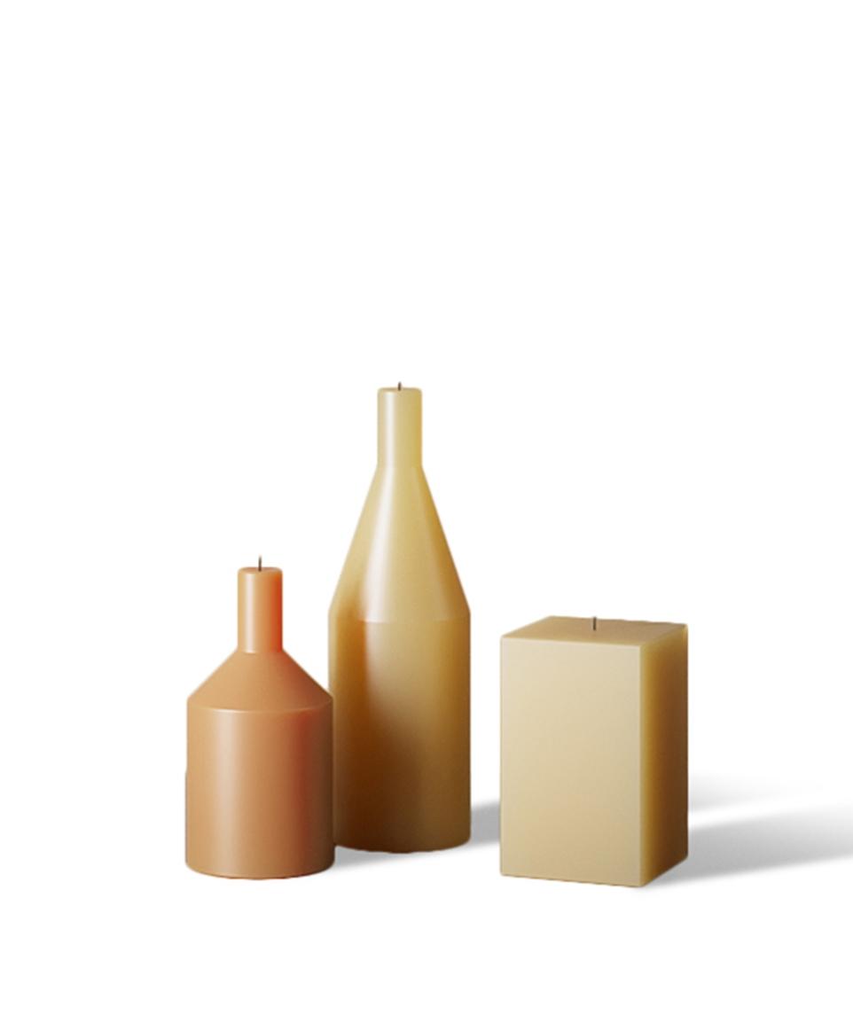 Morandi Candles (3 Piece Set)