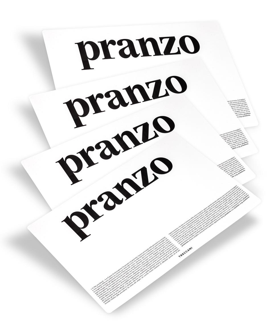 Kit Tovagliette Pranzo